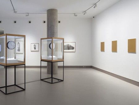 Installation view of Temporal Measures (2 Dec 2014 - 24 Jan 2015)