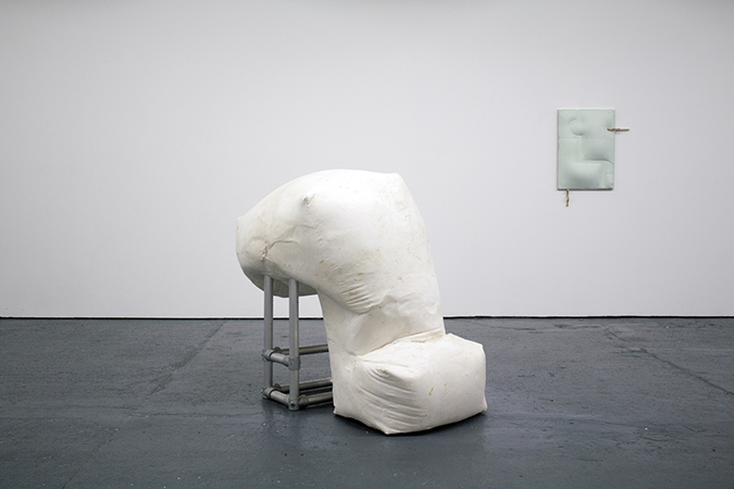 'The Hoarders and Wasters', 2014, Plaster, Aluminium