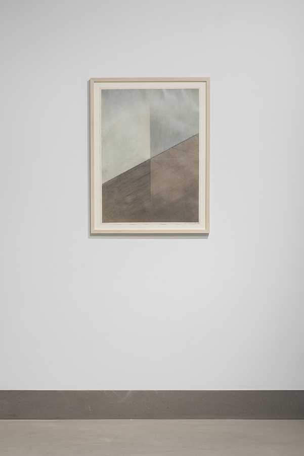 Lydia Okumura, 'Untitled', 1976 Acrylic and pencil on paper, 76 x 56 cm Image: Damian Griffiths