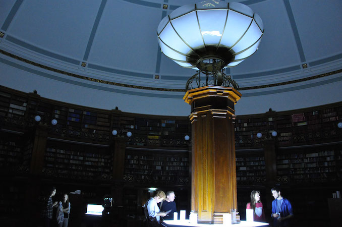 Images from the night at the library, 2014