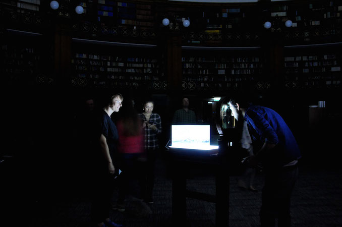 Images from the night at the library, 2014 Picton Reading Room, Liverpool Image: Ben Stoker & Minako Jackson