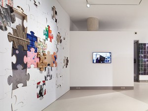 Installation view of by the mountain path (29 Apr - 20 Jun 2015)