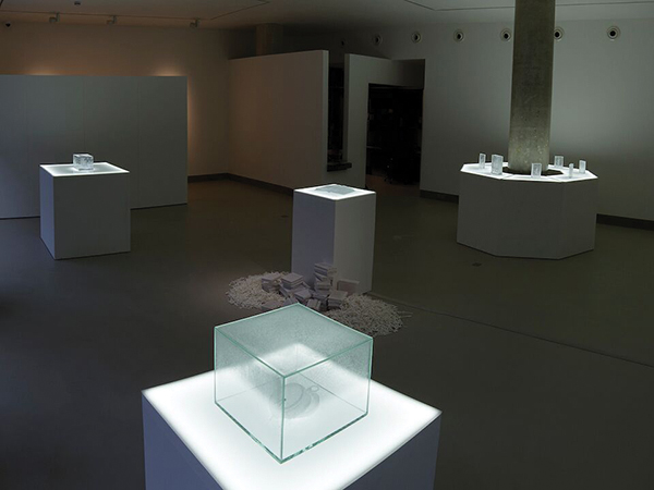 Installation view of Aiko Miyanaga, Strata: slumbering on the shore (3 Jul - 21 Sep 2014)