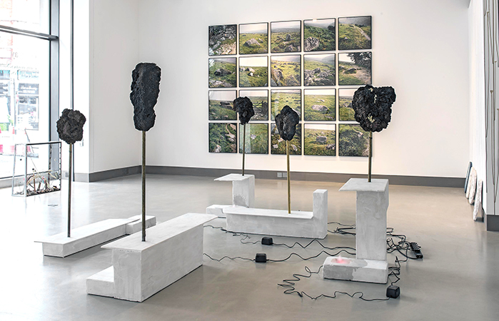 Installation view of Overlay (28 June – 20 September 2016)