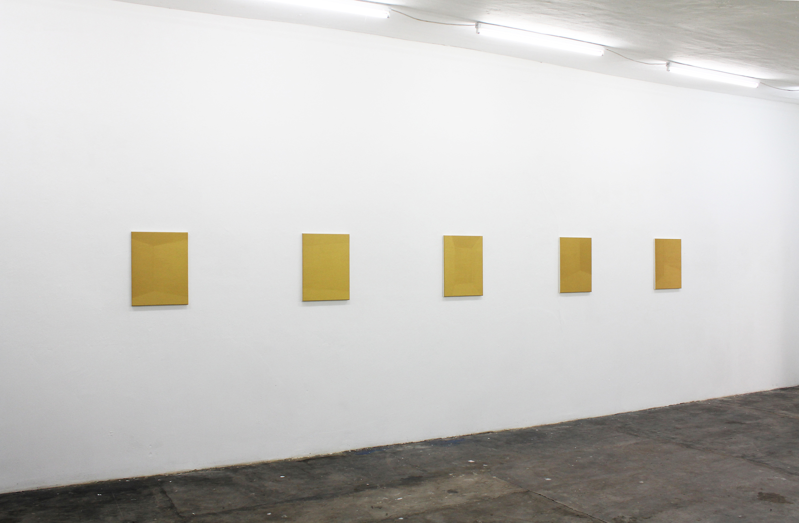Futo Akiyoshi Installation shot of From a Quiet Distance, 2014 at PARKHAUS im Malkastenpark, Düsseldorf