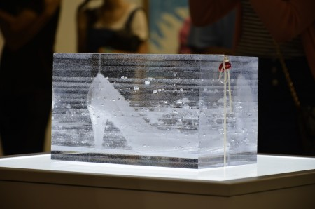 Aiko Miyanaga Installation shot of Strata: Origins, 2014 Courtesy of the artist and White Rainbow