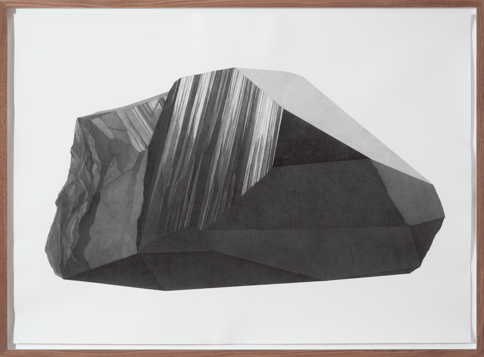 Takahiro Ueda Smoky quartz, 2013 Graphite on paper Courtesy of the artist Image: Masaya Kato With thanks to TS art projects, Berlin