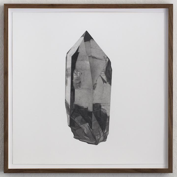 Takahiro Ueda Smoky quartz, 2014 Graphite on paper Courtesy of the artist Image: Masaya Kato