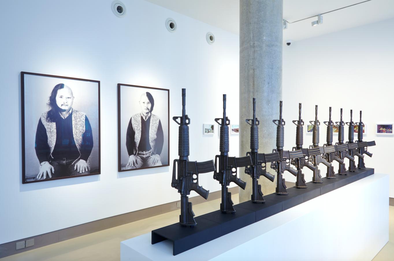 Chu Enoki : Enoki Chu, Installation View, White Rainbow 2014.  Photo credit: Tom de Gay