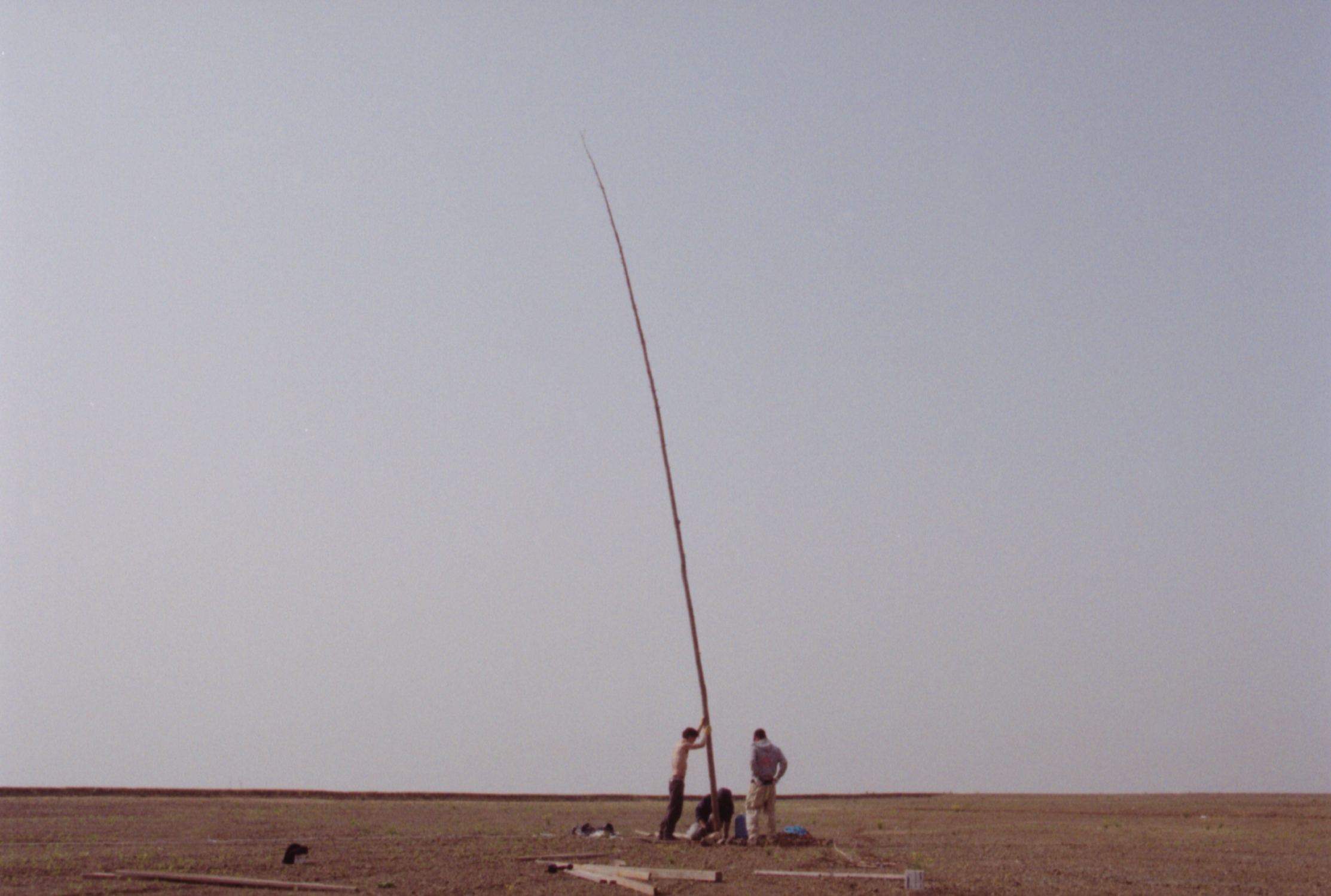 hyslom Hidokei (Sundaial) Scene from Video Courtesy of the artist