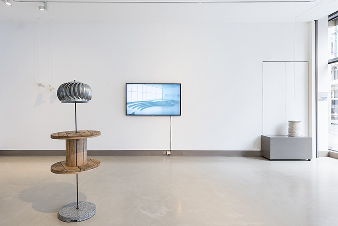 Lightness, installation view at White Rainbow, London, 2017. Image: Damian Griffiths.