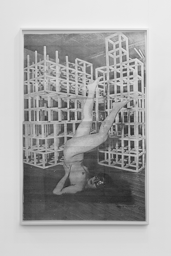 Kazuko Miyamoto, 'Stunt (181 Chrystie Street, 1981)', 1982 Unique photocopy made out of approximately 44 pieces of various sizes, 150 x 97 cm Image courtesy EXILE, Berlin