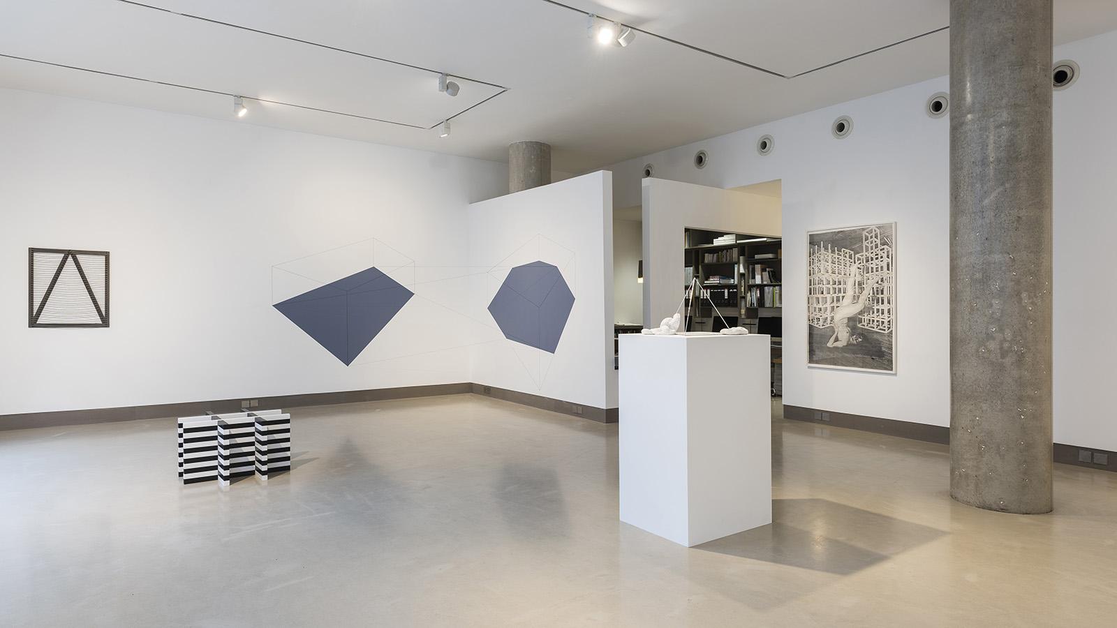 'Minimalist Anyway', installation view at White Rainbow, London, 2017